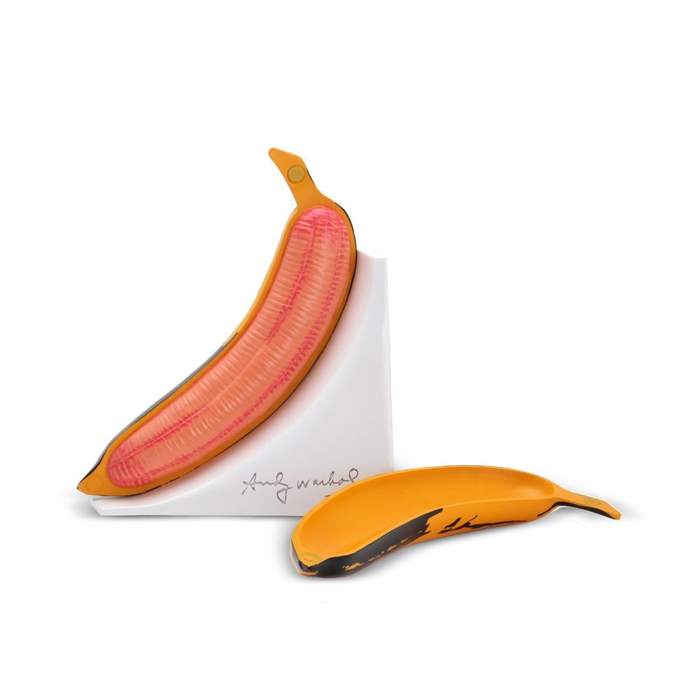 Andy Warhol Magnetic Banana Bookends