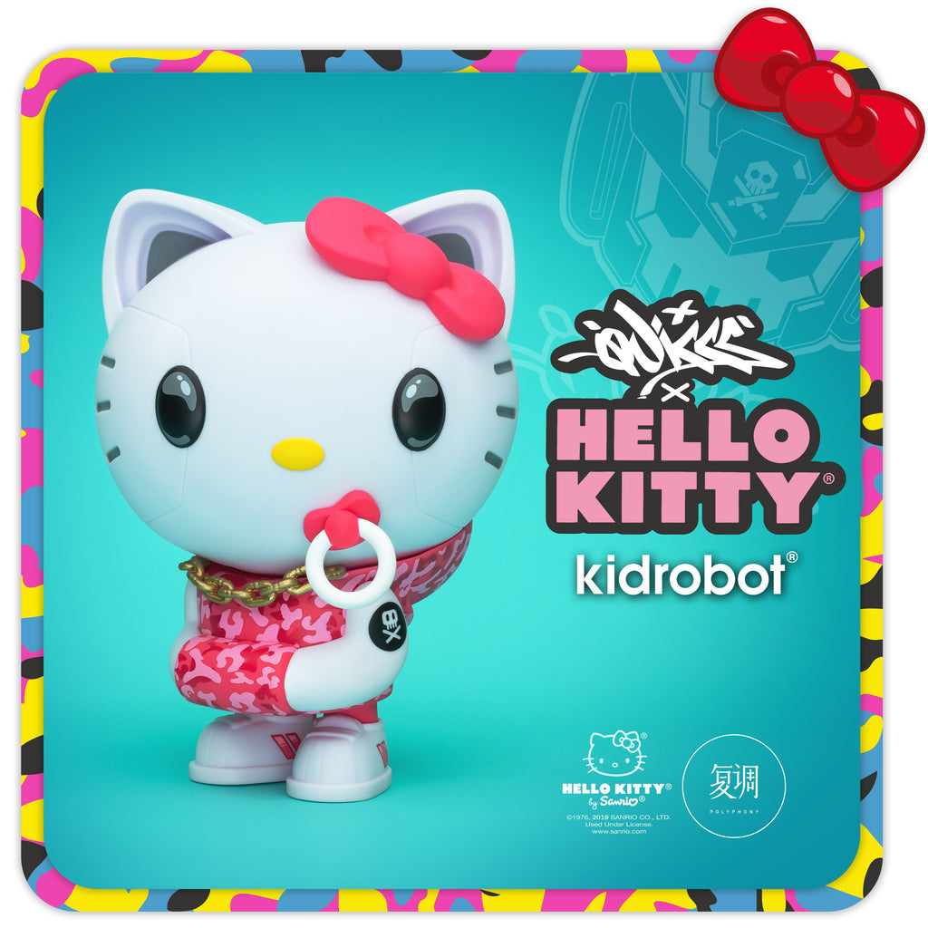 Quiccs Hello Kitty — Polyphony Exclusive Pink Camo
