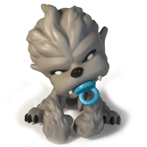 Daycare Dropouts Wolfman Vinyl Figure