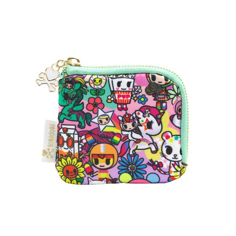 Tokidoki Flower Power Zip Coin Purse