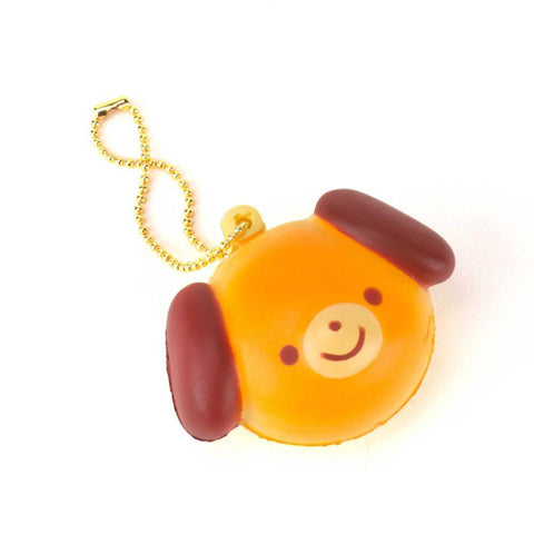 Animal Pan Squishy Keychain Gachapon - Random