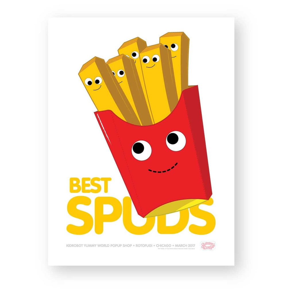 Best Spuds Yummy World Limited Edition Poster