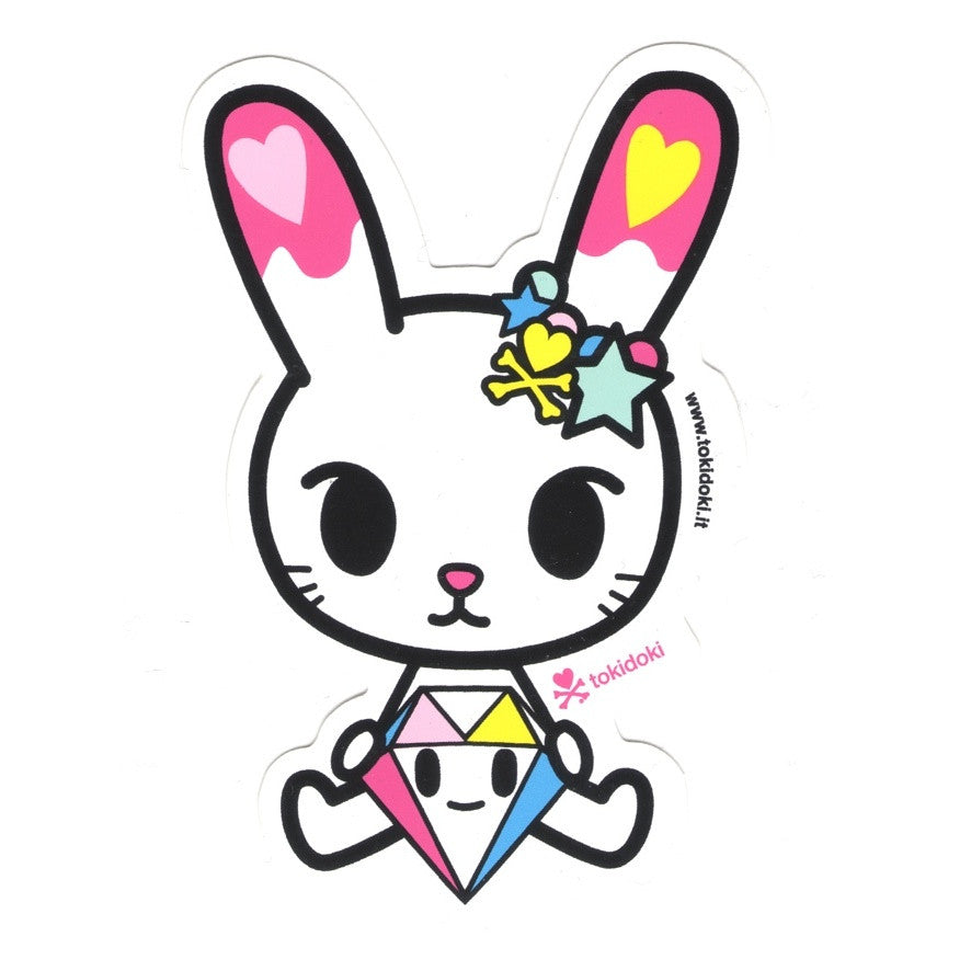 Bunny Diamante - tokidoki Sticker