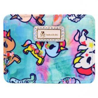 Watercolor Paradise Flat Card Holder from tokidoki