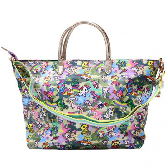 Camo Kawaii Carryall Tote Bag by Tokidoki