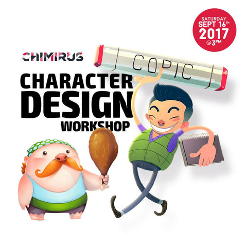 Chimirus Character Design Workshop