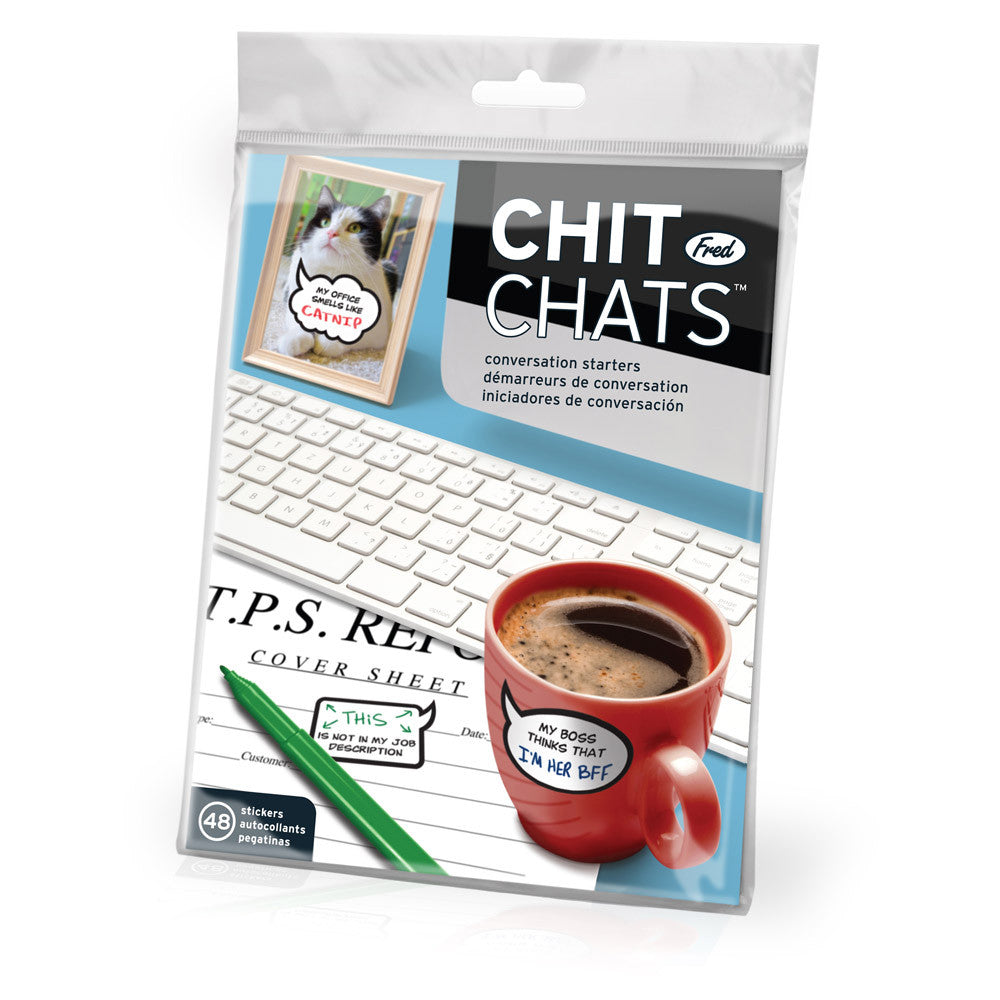 Chit Chats Office Stickers