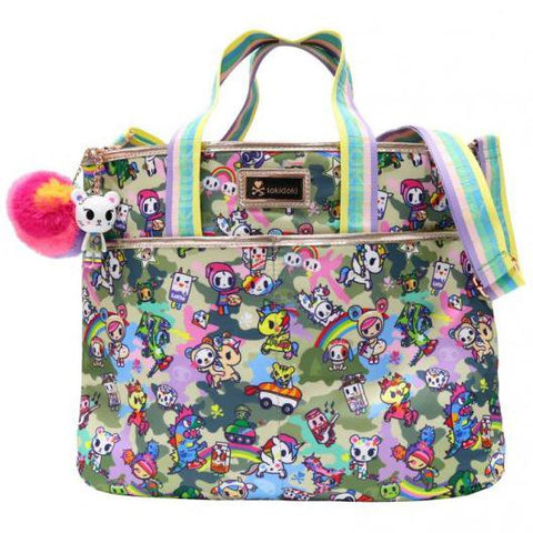 Camo Kawaii Cinch Crossbody Bag by Tokidoki