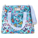 Watercolor Paradise Cinch Crossbody Tote from tokidoki