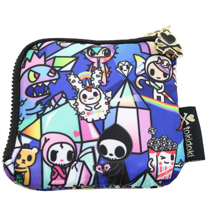 Tokidoki Crystal Kingdom Zip Coin Purse