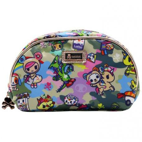 Camo Kawaii Cosmetic Bag by Tokidoki