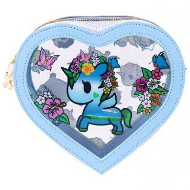 Watercolor Paradise Clear Cosmetic Case from tokidoki