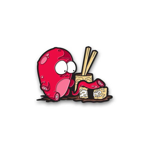 O-NO Sushi Enamel Pin
