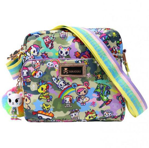 Camo Kawaii Small Crossbody Bag by Tokidoki
