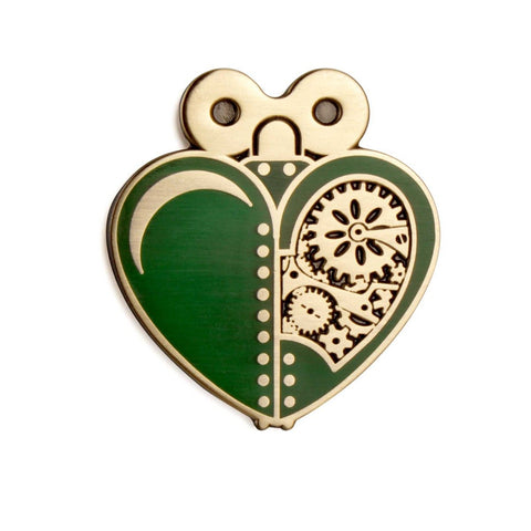 The Artpin Collection - Woodsman's Heart - Green