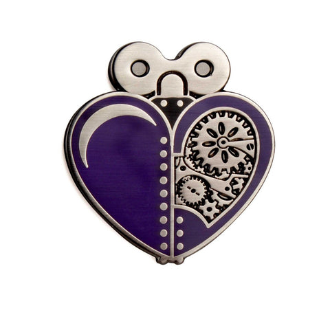 The Artpin Collection - Woodsman's Heart - Purple