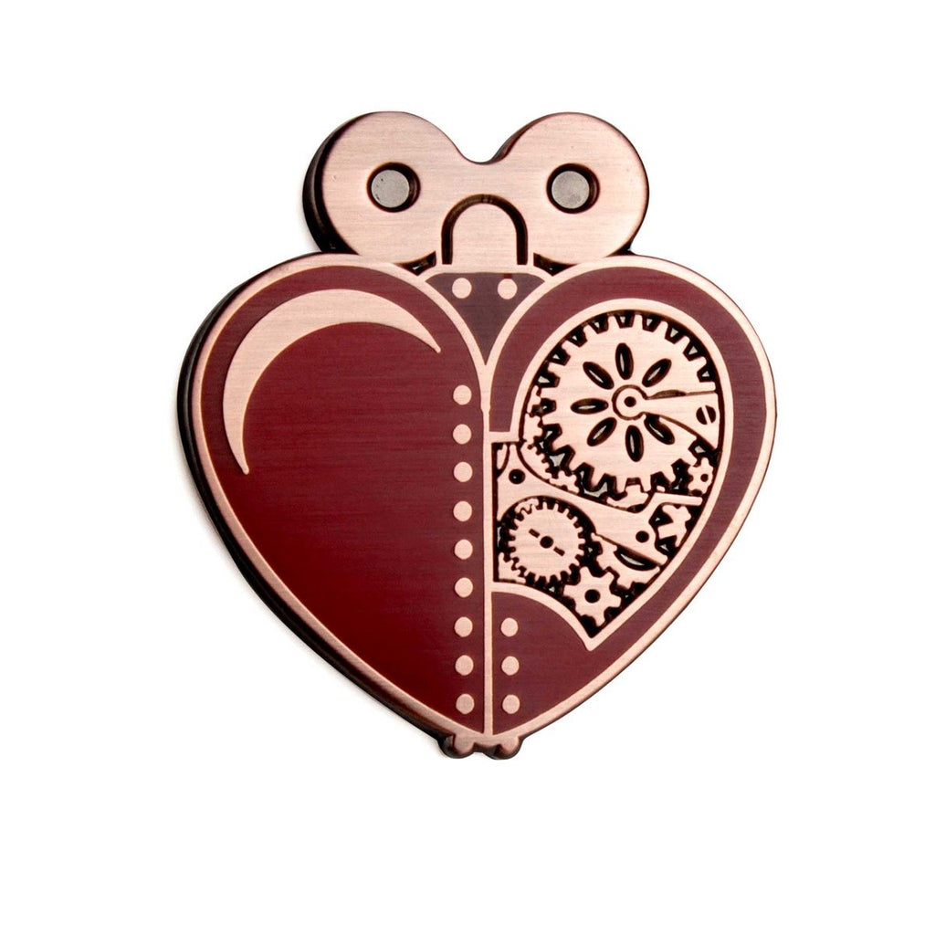 The Artpin Collection - Woodsman's Heart - Red