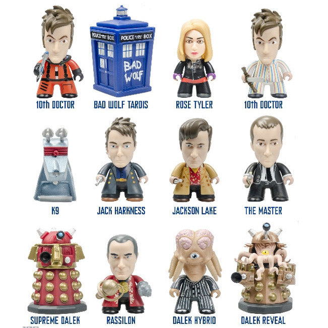 10th Doctor Gallifrey Series -  Blind Box