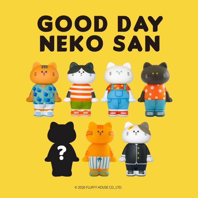 Good Day Neko San Blind Box by Fluffy House