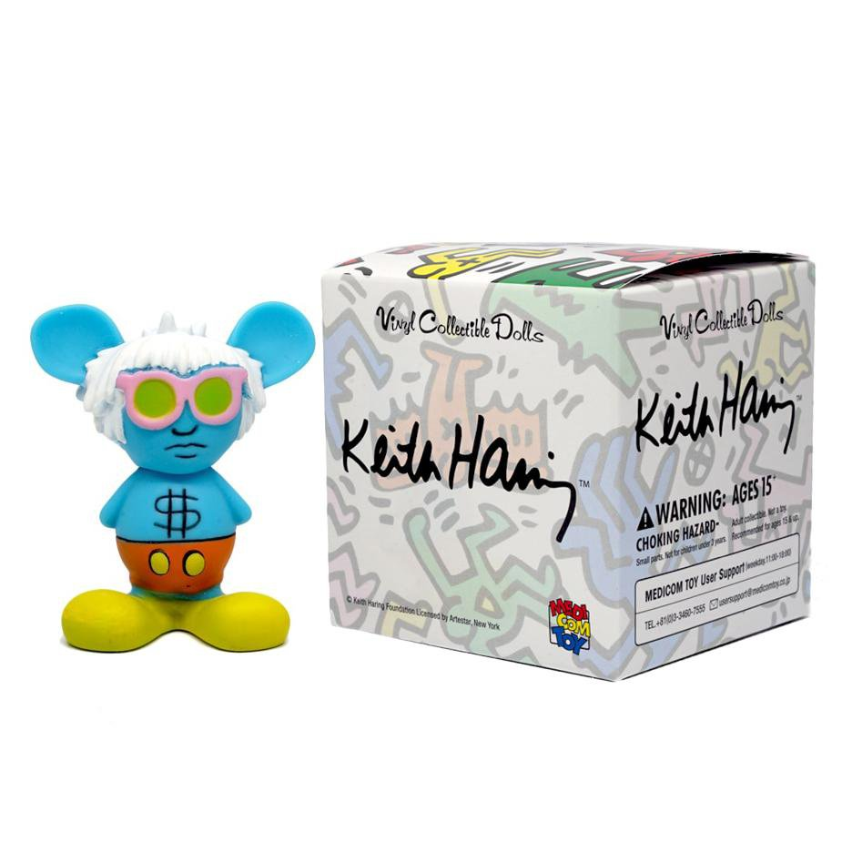 Keith Haring Mini VCD Blind Box