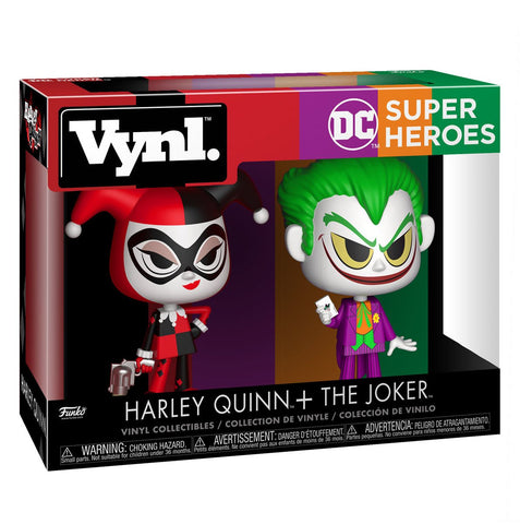 Funko VYNL Harley Quinn and The Joker 2-Pack