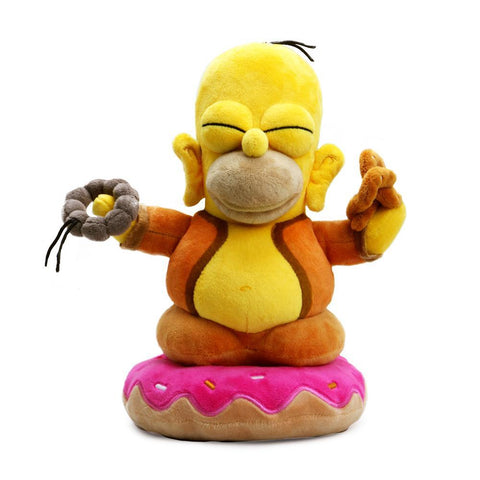 "The Simpsons Homer Buddha 10"" Plush"
