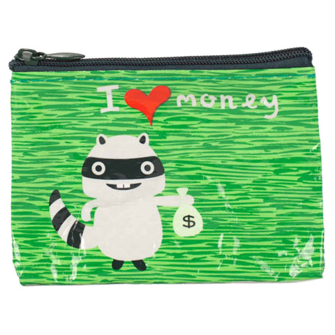 I Heart Money Coin Purse