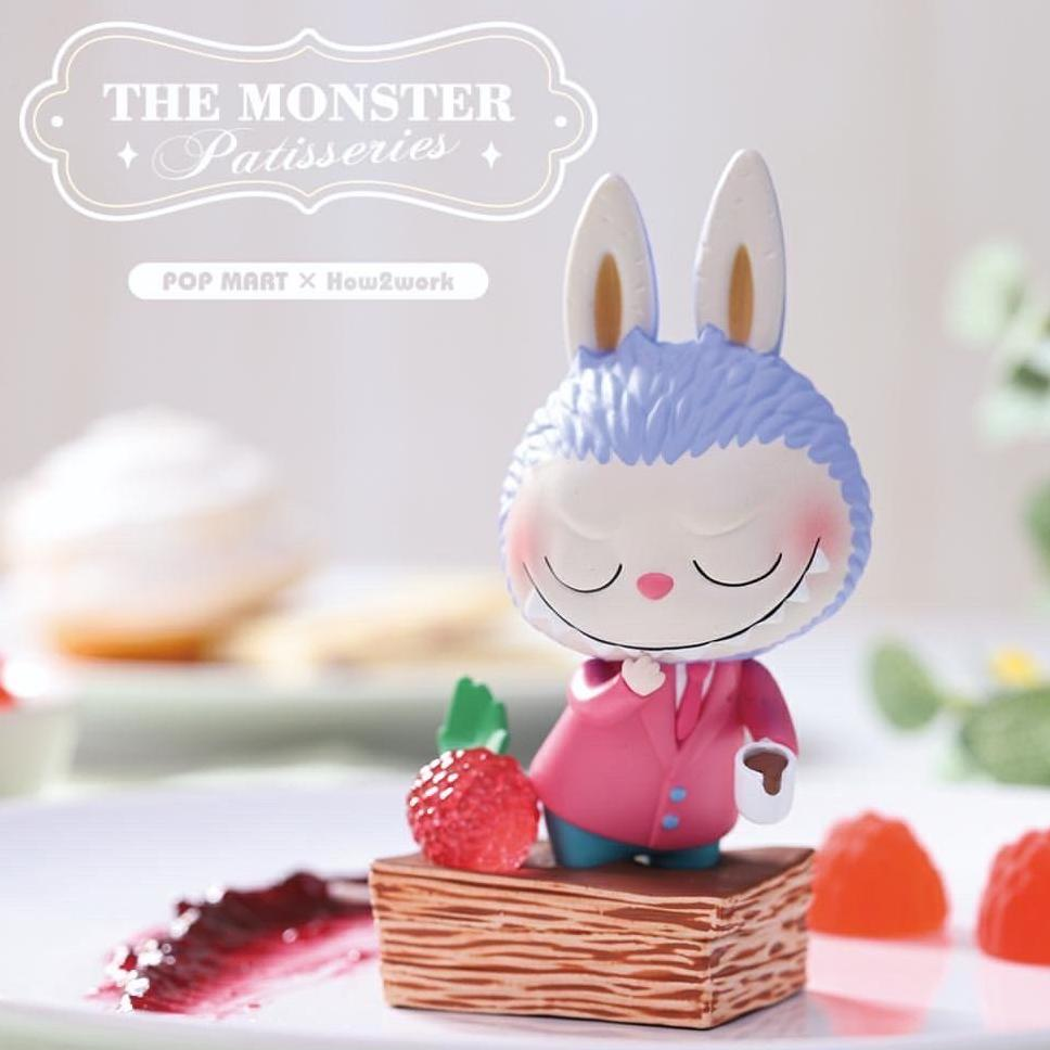 The Monster Patisseries Labubu Blind Box Series by Kasing Lung