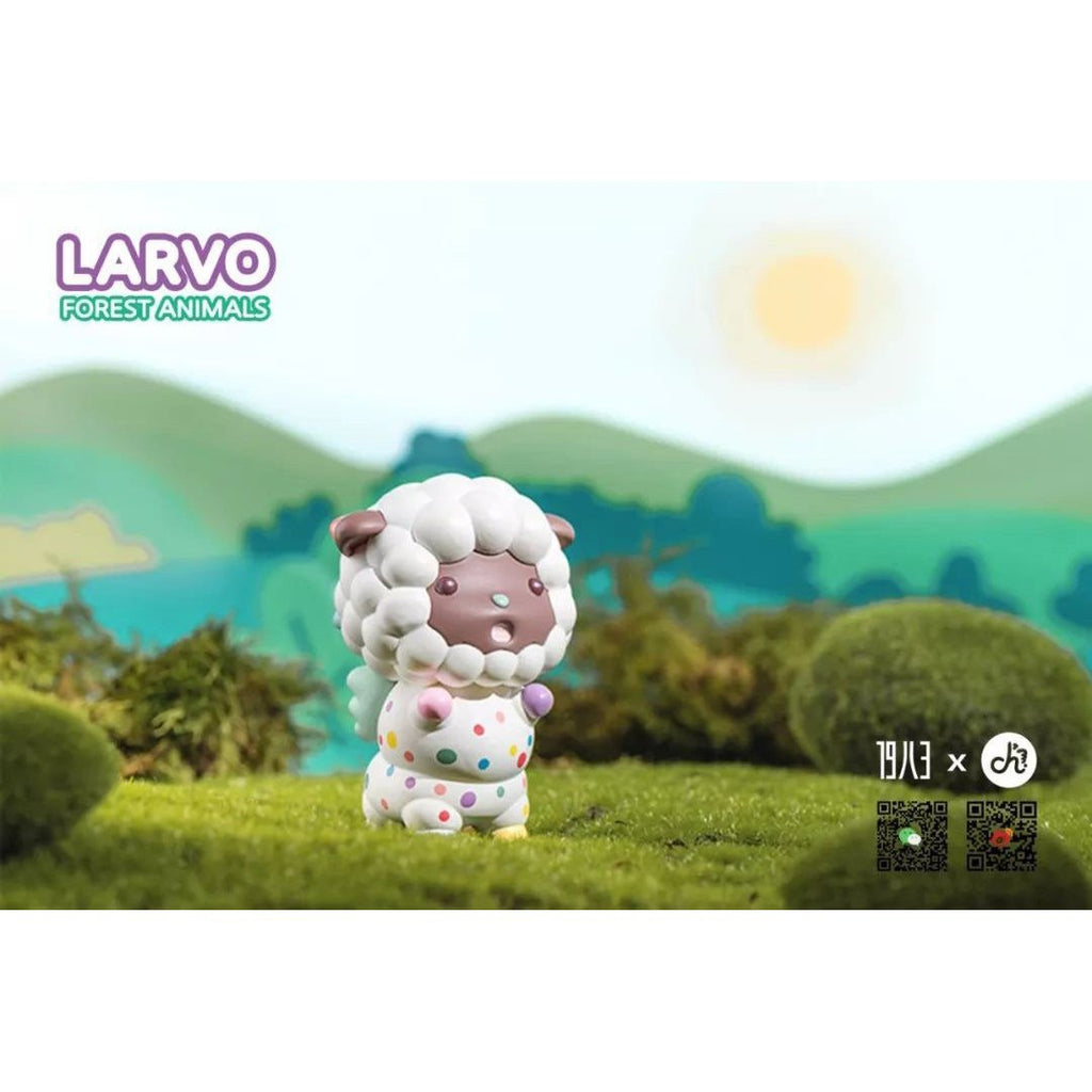 Larvo Forest Animals Series by Playgrounders x 1983 Toys