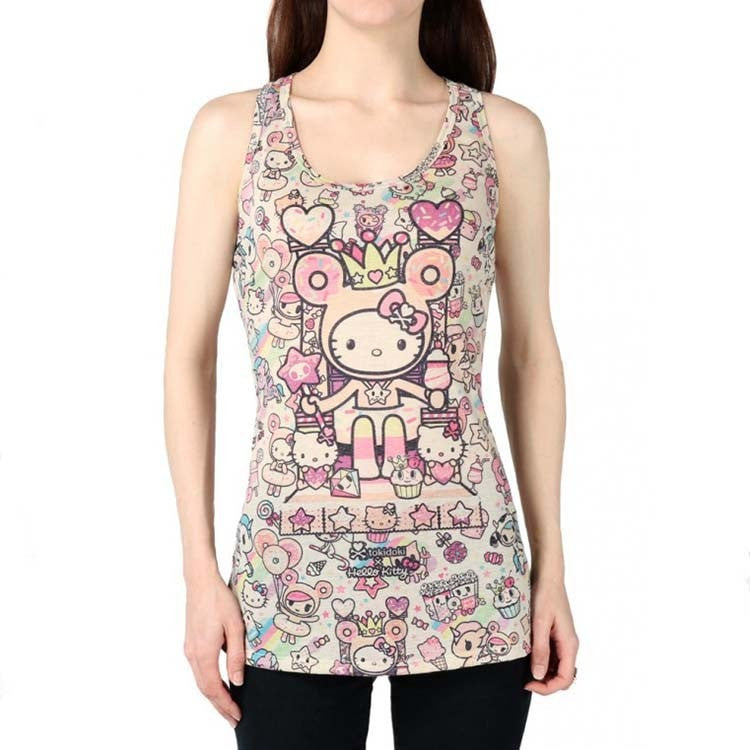 tokidoki x Hello Kitty Candy Queen Racerback Tank