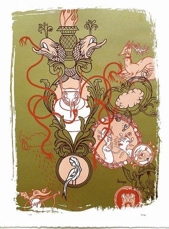 Travis Lampe Pointless Ornament Print