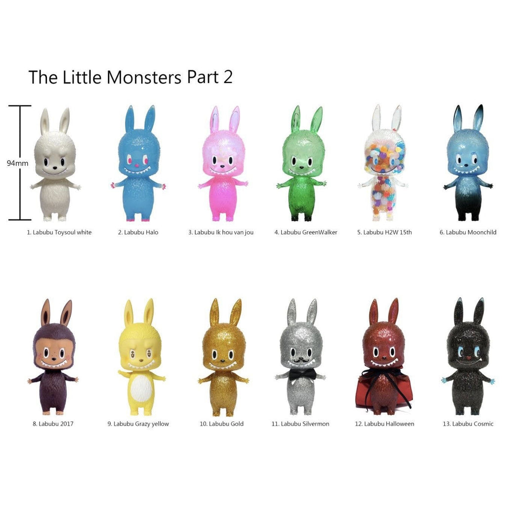 Labubu Little Monsters Mini Series 2 by Kasing Lung