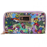 Camo Kawaii Long Wallet by Tokidoki