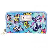 Watercolor Paradise Long Wallet from tokidoki