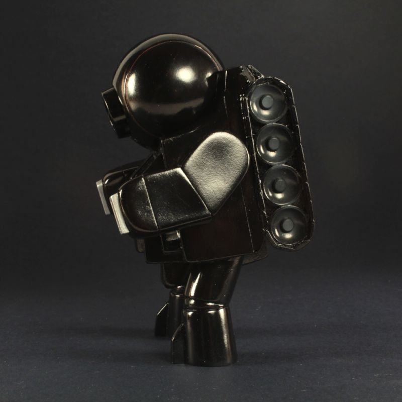 Rumble Monsters Robot Seven w/ Laser Cannon - Black