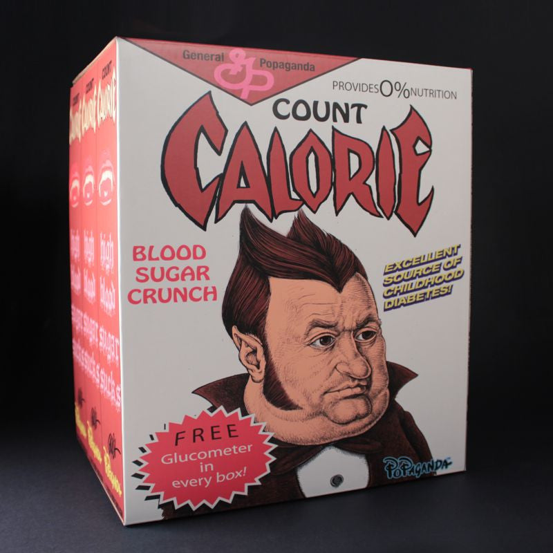 Count Calorie by Ron English