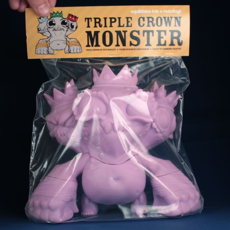 Triple Crown Monster - Unpainted Lavender