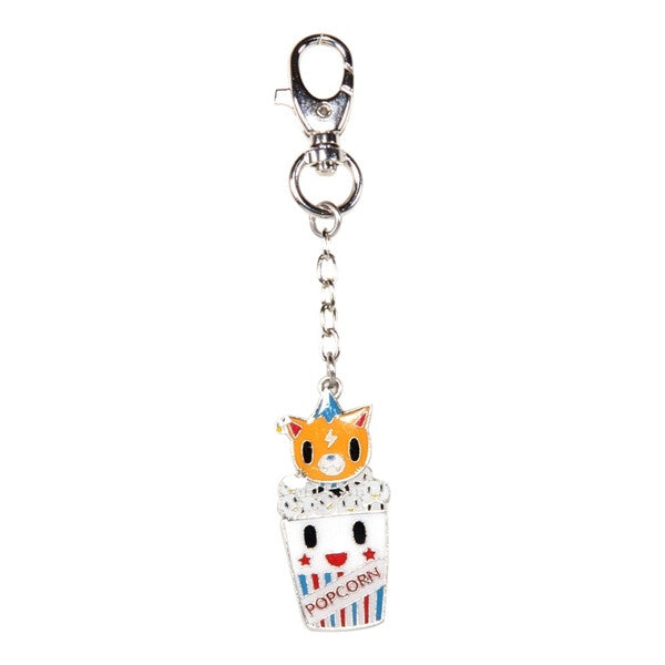 Rolly Popcorn - Buffet Keychain by tokidoki