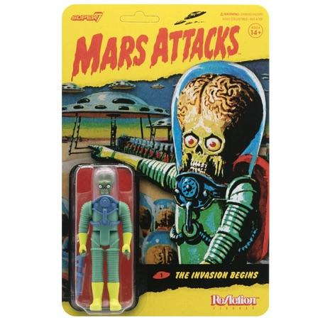 Mars Attacks ReAction Figure - The Invasion Begins