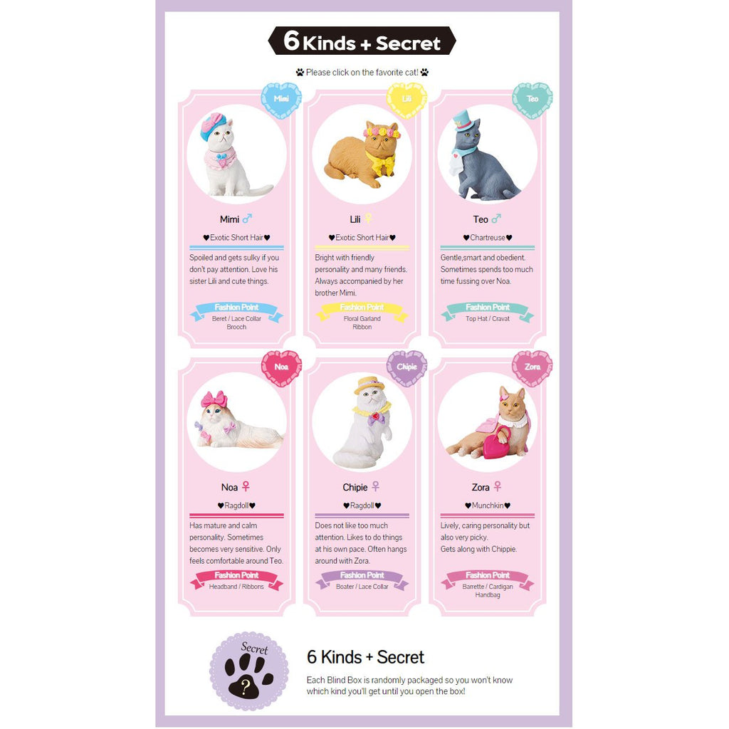 Fancy Pets - Mary's Favorite Cat - Single Blind Box