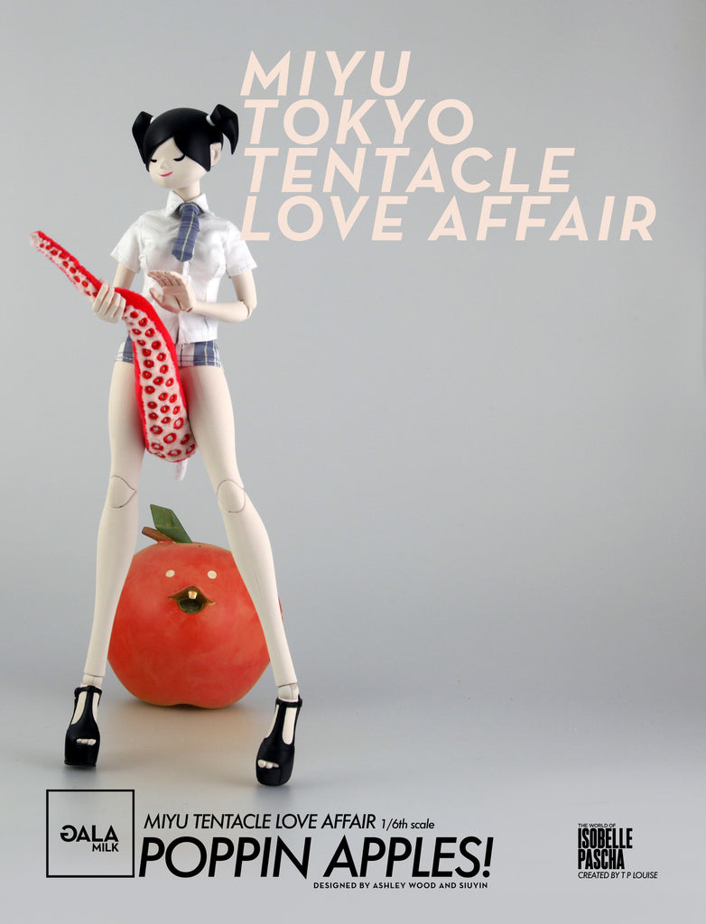 3A The World of Isobelle Pascha - Miyu Tentacle Crush Pre-Order