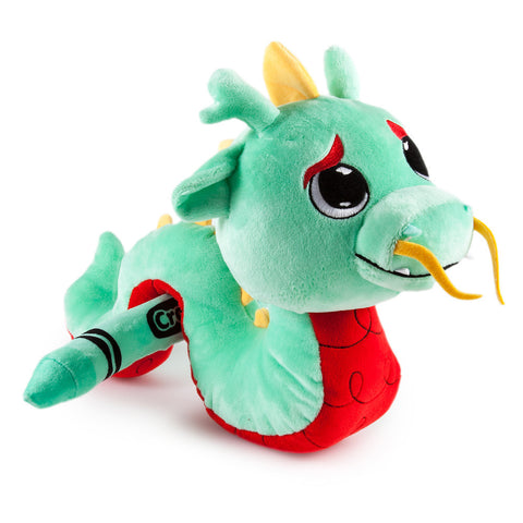 Shamrock Dragon - Medium Crayola x Kidrobot Plush