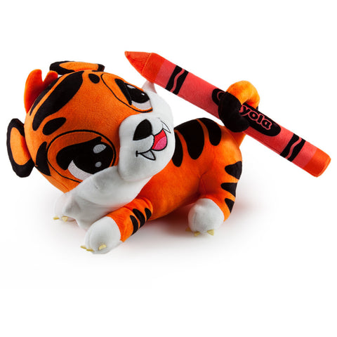 Outrageous Orange Tiger - Medium Crayola x Kidrobot Plush