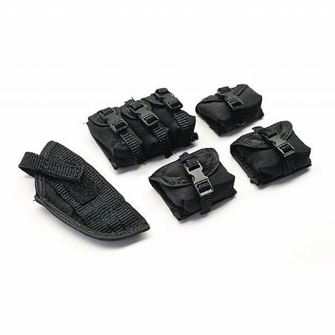 Squadt Pouch Set - Black