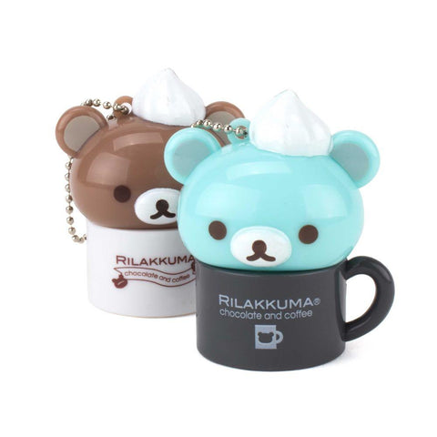 Light Up Rilakkuma Chocolate & Coffee Mug Gachapon - Random