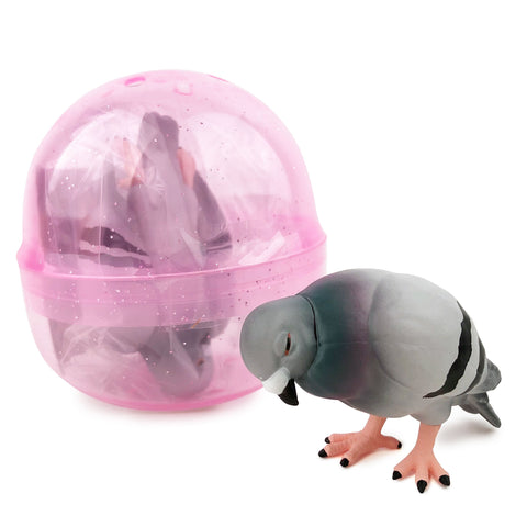 Sleepy Pigeon Gashapon Capsule