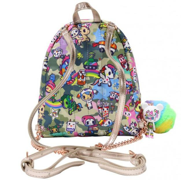 Camo Kawaii Small Backpack by Tokidoki