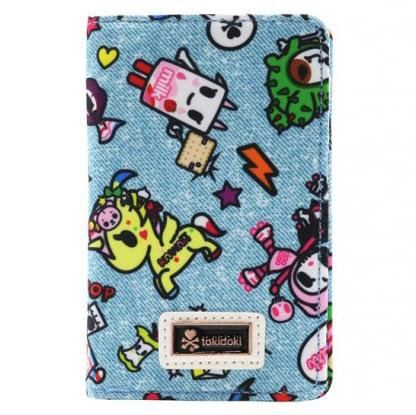 Denim Daze Small Fold Wallet by Tokidoki