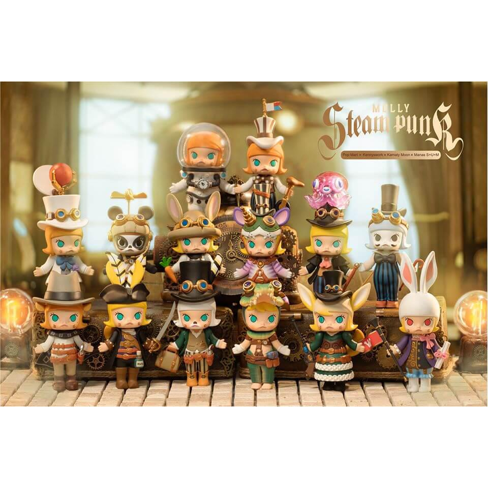 Molly Steampunk Blind Box Series