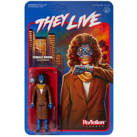 """They Live"" ReAction Female Ghoul Figure"